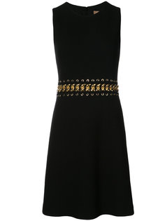 расклешенное платье с цепочкой на талии Michael Kors