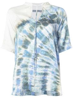 блузка с эффектом градиент Raquel Allegra