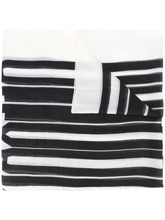шарф в полоску Alexander Wang