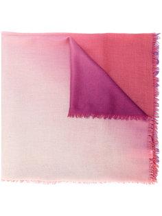 шарф с бахромой с градиентным эффектом Paul Smith