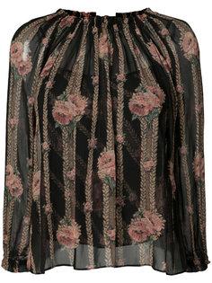 блузка с вышивкой Needle & Thread