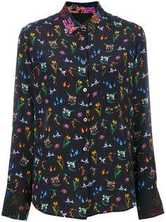 блузка с цветочным принтом Ps By Paul Smith
