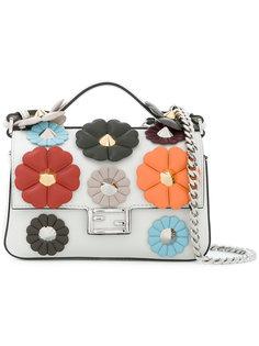 сумка на плечо с декоративной отделкой  Fendi