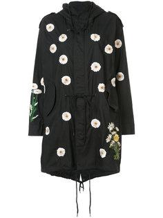 пальто с капюшоном и вышивкой Creatures Of The Wind