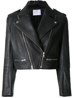 укороченная байкерская куртка  Dion Lee