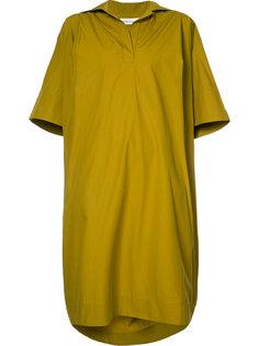 платье с V-образным вырезом Wanda Nylon