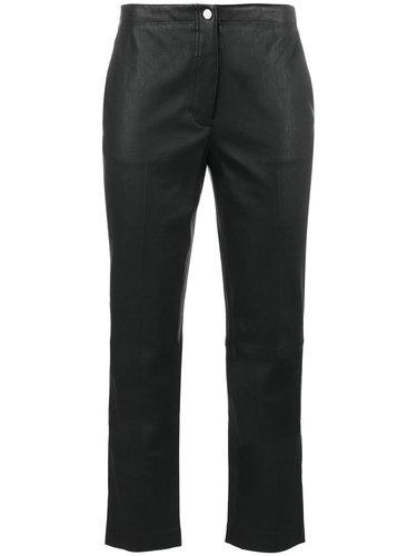 укороченные расклешенные брюки Helmut Lang