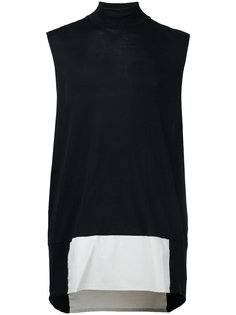 асимметричная футболка без рукавов Berthold