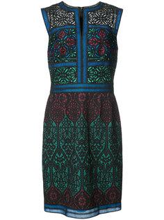 платье с панельным дизайном Tadashi Shoji