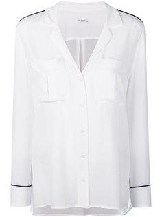 рубашка в пижамном стиле с кантом  Equipment