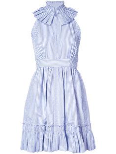 полосатое платье с пышной юбкой Alexis