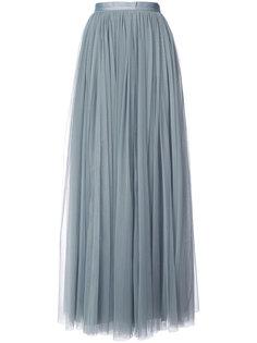 плиссированная юбка макси Needle & Thread