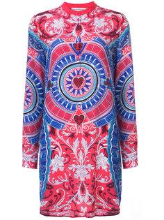 платье-рубашка с вышивкой Mary Katrantzou
