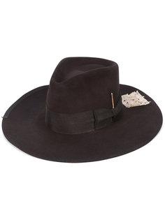 шляпа со спичкой Nick Fouquet