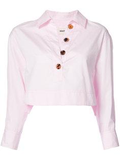 укороченная рубашка Khaite