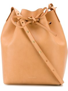 сумка-мешок  через плечо со шнуровкой Mansur Gavriel
