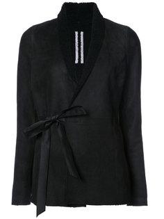 куртка с запахом Rick Owens