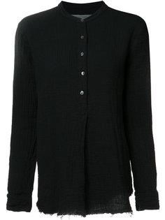 рубашка с воротником-стойка Raquel Allegra