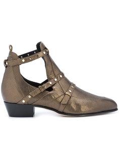 ботинки с эффектом металлик Jimmy Choo