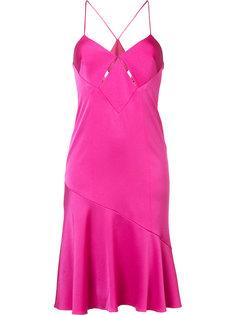 платье с расклешенным подолом Galvan