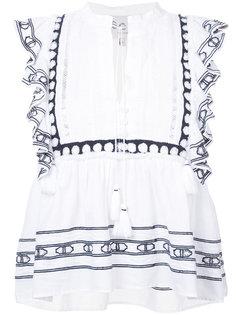 блузка с бахромой Sea