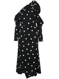 платье в горох Monse