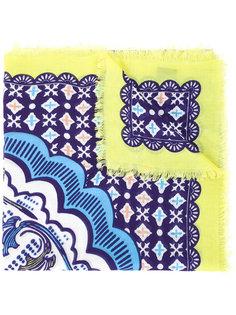 шарф с принтом Fan Mary Katrantzou