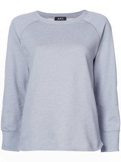футболка с длинными рукавами A.P.C.