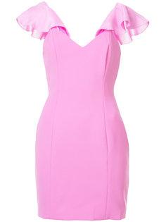 платье мини с оборками Jay Godfrey