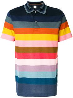 футболка-поло в полоску  Paul Smith