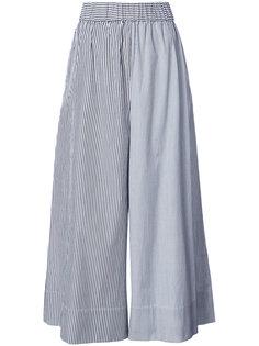 полосатые брюки палаццо Tibi