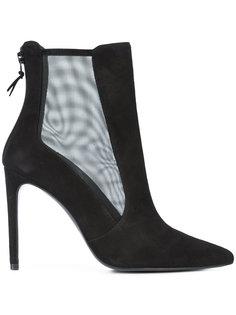 ботинки с сетчатой панелью Stuart Weitzman