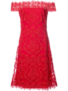 платье с цветочным кружевом Tadashi Shoji