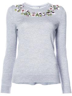 свитер с цветочным украшением Altuzarra