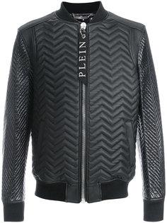 стеганая куртка бомбер Philipp Plein