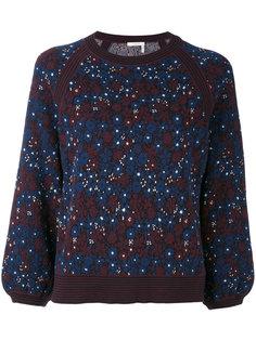 свитер с вышивкой Chloé