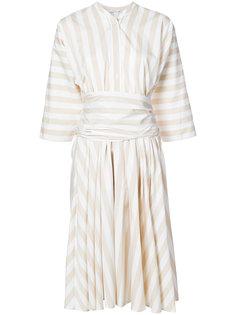 платье в полоску Tome