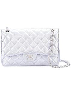 сумка через плечо с откидным клапаном Jumbo Chanel Vintage