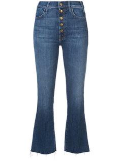 укороченные джинсы на пуговицах Mother