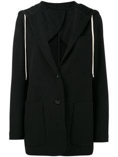 пиджак с капюшоном Helmut Lang