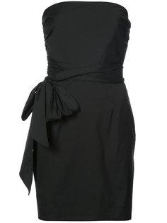 платье с запахом без рукавов Milly