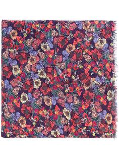 шарф с цветочным рисунком Paul Smith