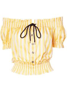 блузка на пуговицах спереди Caroline Constas