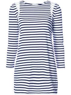 платье-футболка в полоску A.L.C.