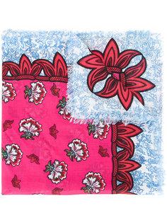 шарф с принтом King Mary Katrantzou