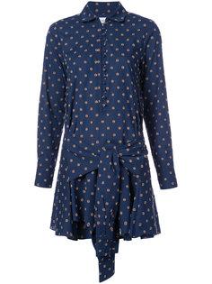 платье-рубашка мини с принтом  Derek Lam 10 Crosby