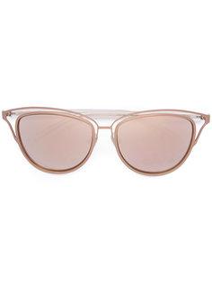солнцезащитные очки с резным дизайном Monique Lhuillier
