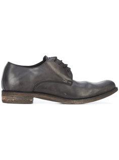 ботинки дерби с эффектом поношенности A Diciannoveventitre