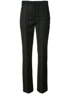 укороченные брюки в полоску Givenchy