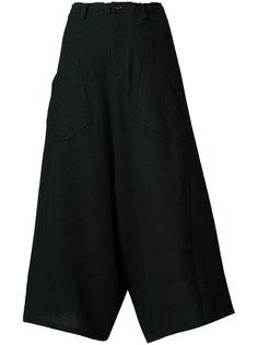укороченные расклешенные брюки Ys Y`s